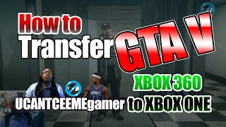 How to Transfer GTA V account from XBOX360 to XBOX One