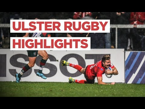 CHAMPIONS CUP HIGHLIGHTS | Ulster vs Leicester Tigers