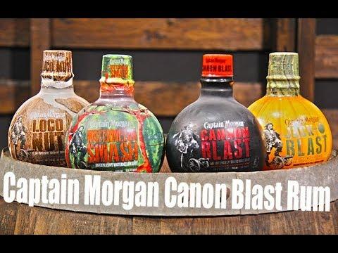 Captain Morgan Cannon Blast