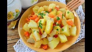 Запеченный картофель в рукаве