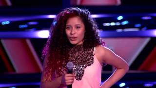 "Aimee Miranda canta ""Killing me softly"" en La Voz Kids (VIDEO)"