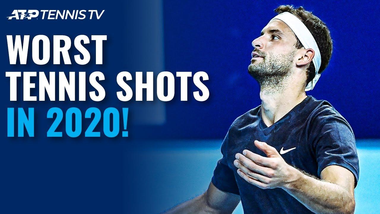 Worst Tennis Shots & Misses in 2020! 😳