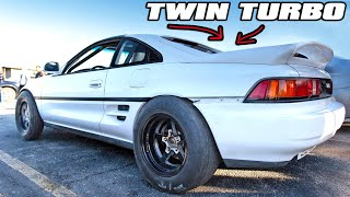 BoostedBoiz TWIN TURBO MR2 is insane! (1000hp K24)