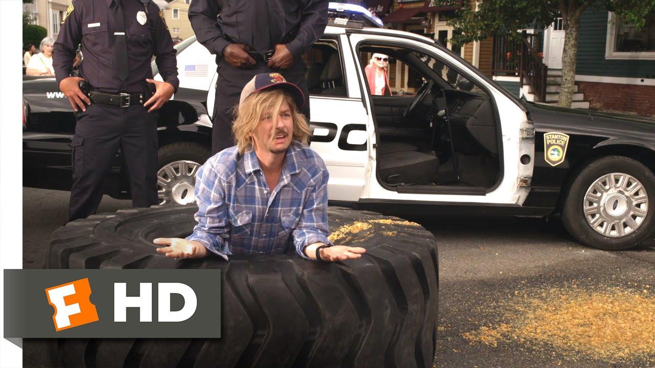 Grown Ups 2 - Runaway Tire Scene (8/10) | Movieclips - YouTube