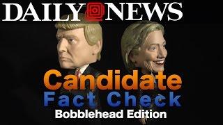 Debate Fact Check: Donald Trump & Hillary Clinton