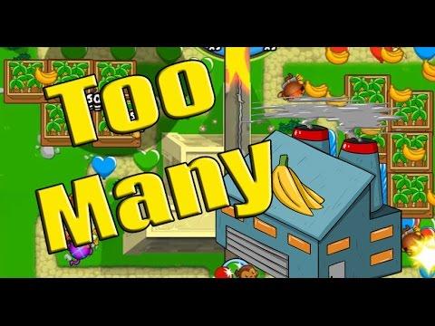 Too Many Banana Farms!? - Bloons TD Battles Moab Pit