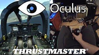 ✈️ DCS A-10C - Oculus Rift DK2 - Thrustmaster Warthog