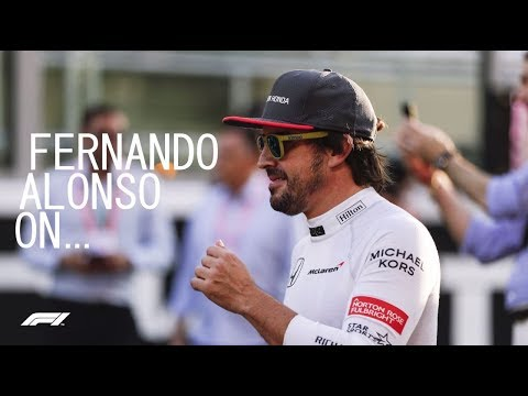 Fernando Alonso On All Things F1