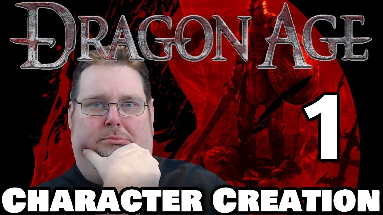 Dragon Age Rpg Live Game Character Creation Session 0 Youtube