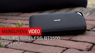 khui hop philips wireless portable bt3500 - wwwmainguyenvn