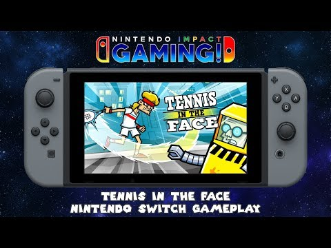 Tennis in the Face | Nintendo Switch Gameplay