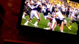 2011 BCS National championship - Cam Newton Fumbles and Refs blow call. Oregon gets shafted