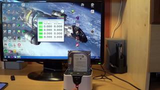 Док-станция Blueendless HD03HUB. Небольшой обзор и тестирование