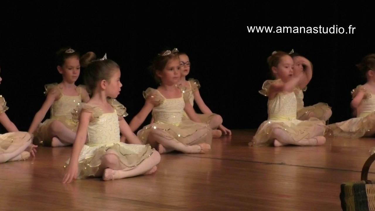 Ecole de danse Amana Studio  - spectace 2017 - eveil à la danse 4/5 ans
