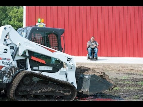 Bobcat Equipment Helps Quadriplegic Man Regain Independence