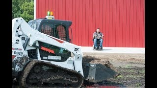 Radio-Remote-Controlled Bobcat Loader Helps Paralyzed Man Get Back to Work