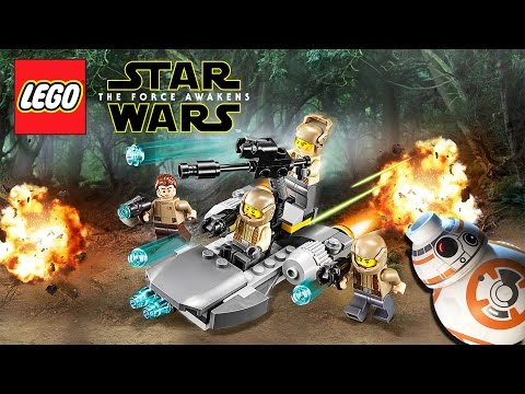 LEGO Star Wars: The Force Awakens Gameplay Trailer Preview #1 |