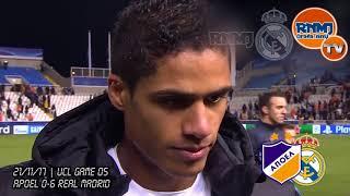 Download Video VARANE post Apoel 0-6 Real Madrid | Champions League (21/11/2017) MP3 3GP MP4