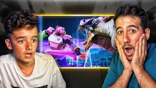 WHAT REALLY HAPPENED IN THE FINAL BATTLE!! REACTING TO FORTNITE PELICULAS - ElChurches
