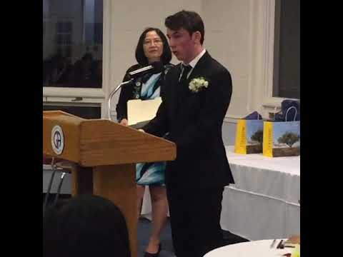 Modern Language Induction Ceremony: Andrew Freas ' 19
