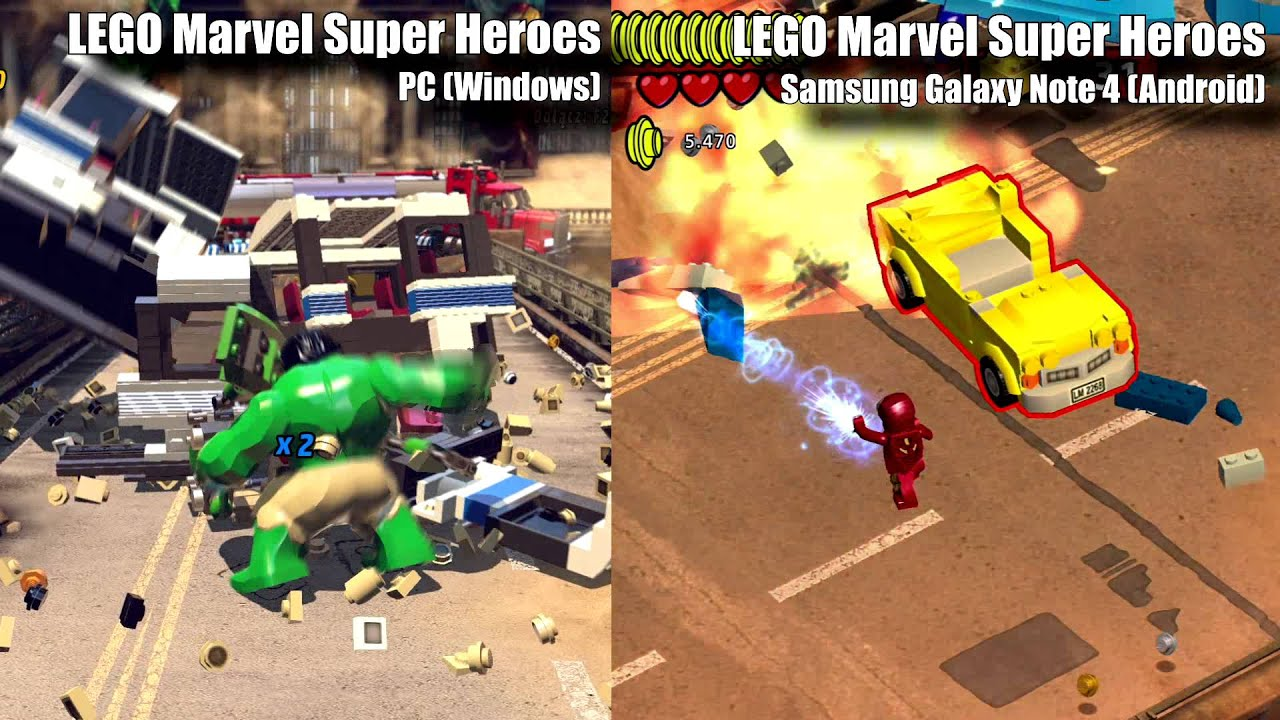 LEGO Marvel Fighting for Justice Around the Globe - US