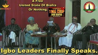 A Free United States Of Biafra Is Our Stand - ADF & Igbo Leaders Speak