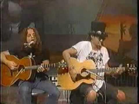 Slash Snakepit – Beggars and Hangers On Acoustic (live, Japan TV Show)