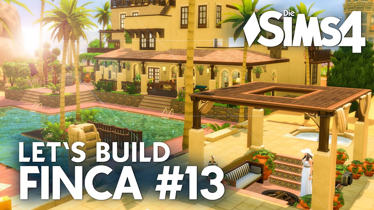 finca ferienhaus bauen die sims 4 let 39 s build 13 bauen einrichten deutsch youtube. Black Bedroom Furniture Sets. Home Design Ideas