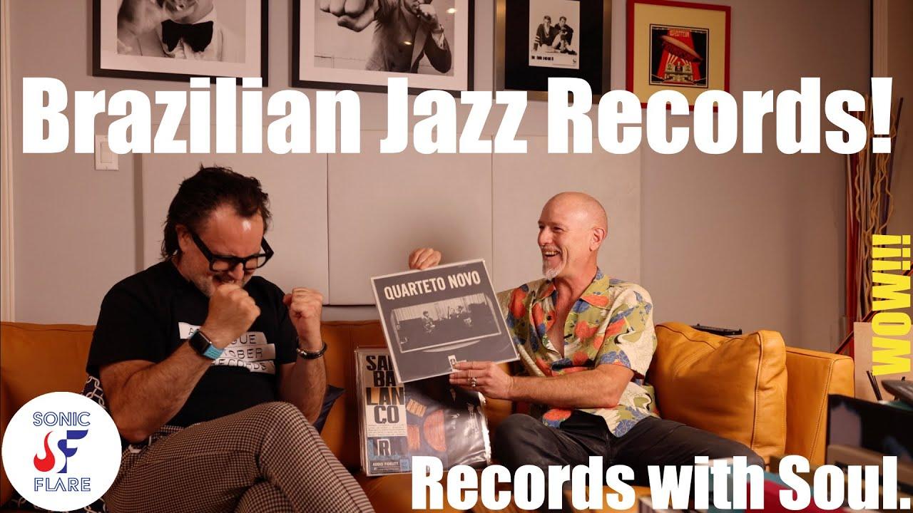 Download Brazilian jazz vinyl records collection!!!   rare vinyl records   vinyl record review   holy grail!