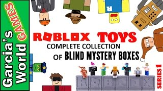 WE HAVE THE COMPLETE SET OF ROBLOX'S MYSTERY BLIND BOXES FIGURES | Roblox Toys | Series 1 | Jazwares