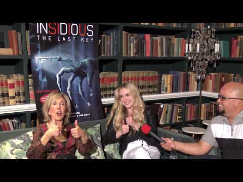 Lin Shaye & Spencer Locke on Insidious: The Last Key  Exclusive !