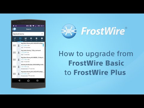 How To Upgrade From FrostWire Basic To Free FrostWire Plus