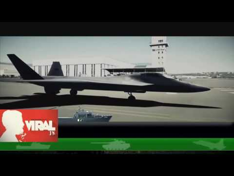 First Ever Demo of Turkish TFX Stealth Jet Fighter Project