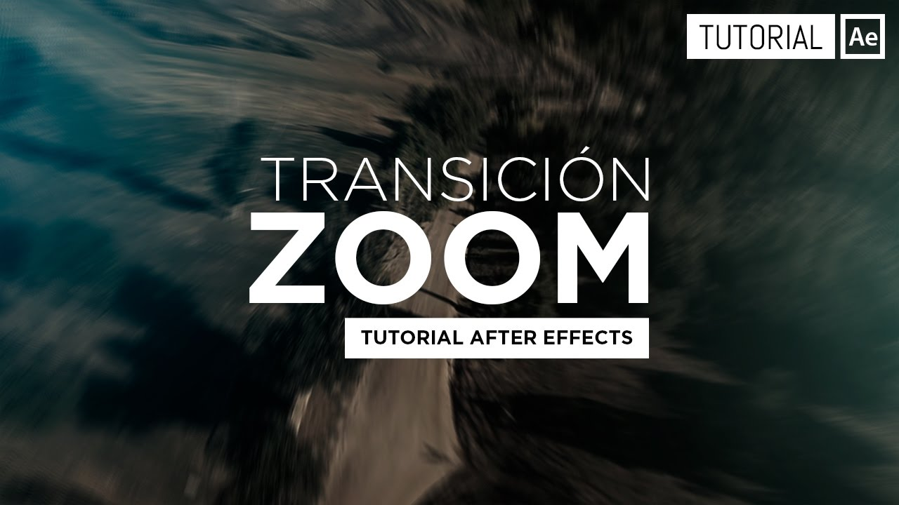 Zoom transition After Effects Tutorial