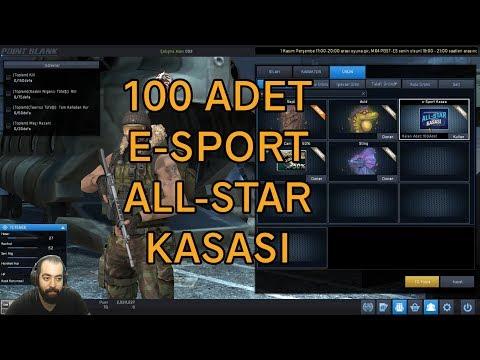 Point Blank | 100 ADET E-SPORT ALL-STAR KASASI AÇIYORUZ!