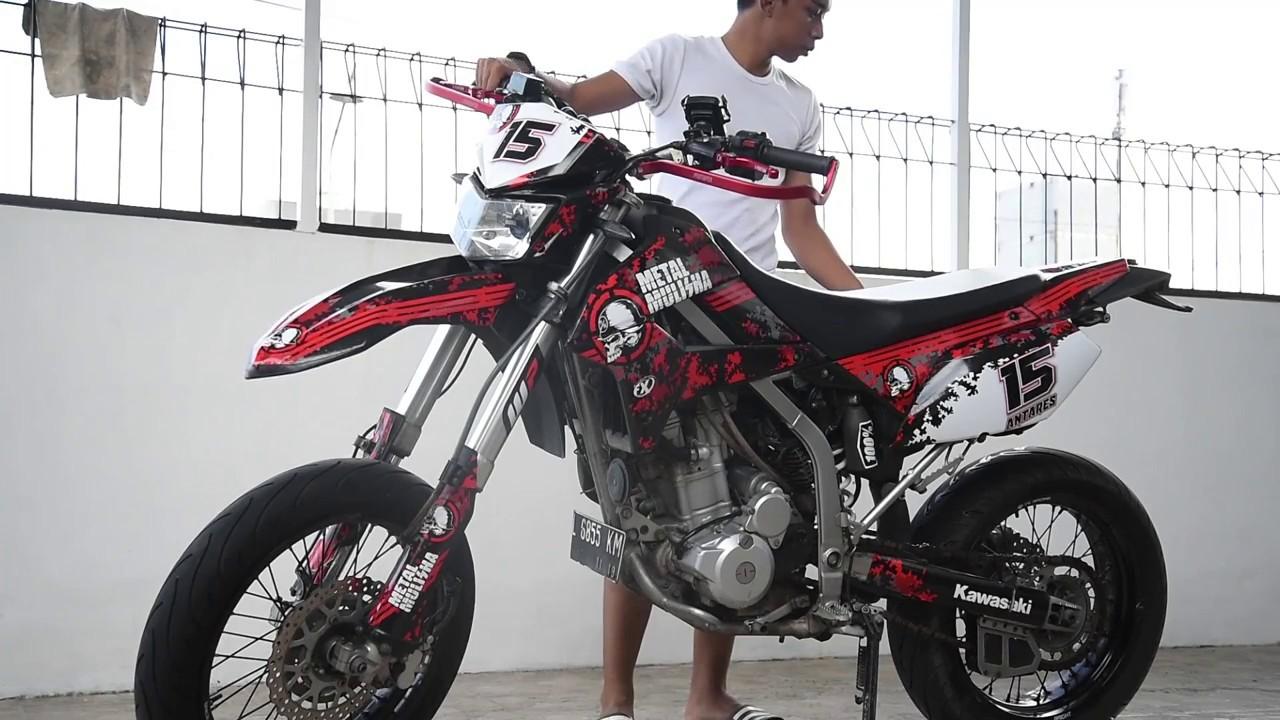 Modifikasi Kawasaki Klx 250cc Gaulotomotif