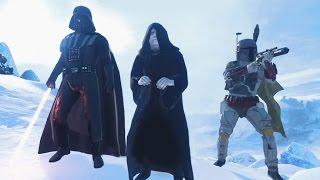 ЗЛОДЕИ ПРОТИВ ГЕРОЕВ! Star Wars: Battlefront — На русском!  #5(HD) Играем первыми