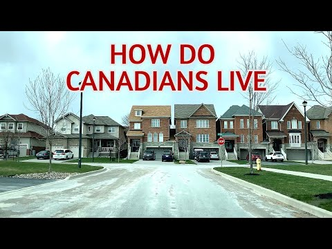 How Do Canadians Live   Driving Through A Neighbourhoods In Ontario
