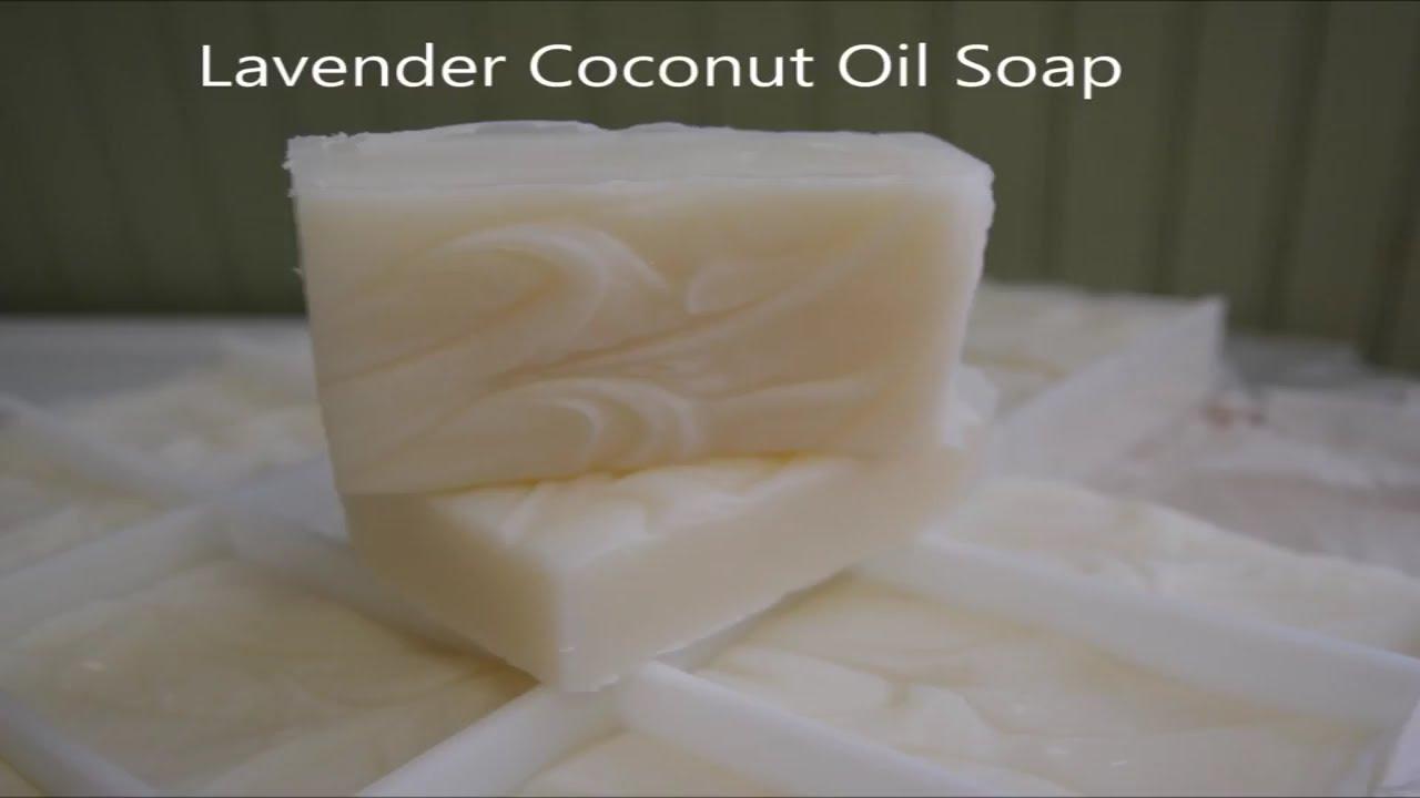Homemade Coconut Oil Soap - 101