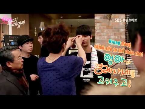 [Vietsub] 150108 'The Family Is Coming' Making Film - N
