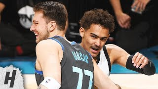 Trae Young vs Luka Doncic Highlights - Round 2 | 2019 NBA All Star Skills Challenge