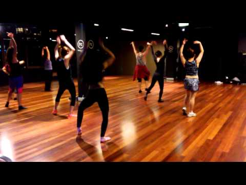 """Crazy in love"" - Burlesque Dolls class at Hard Candy fitness Sydney"