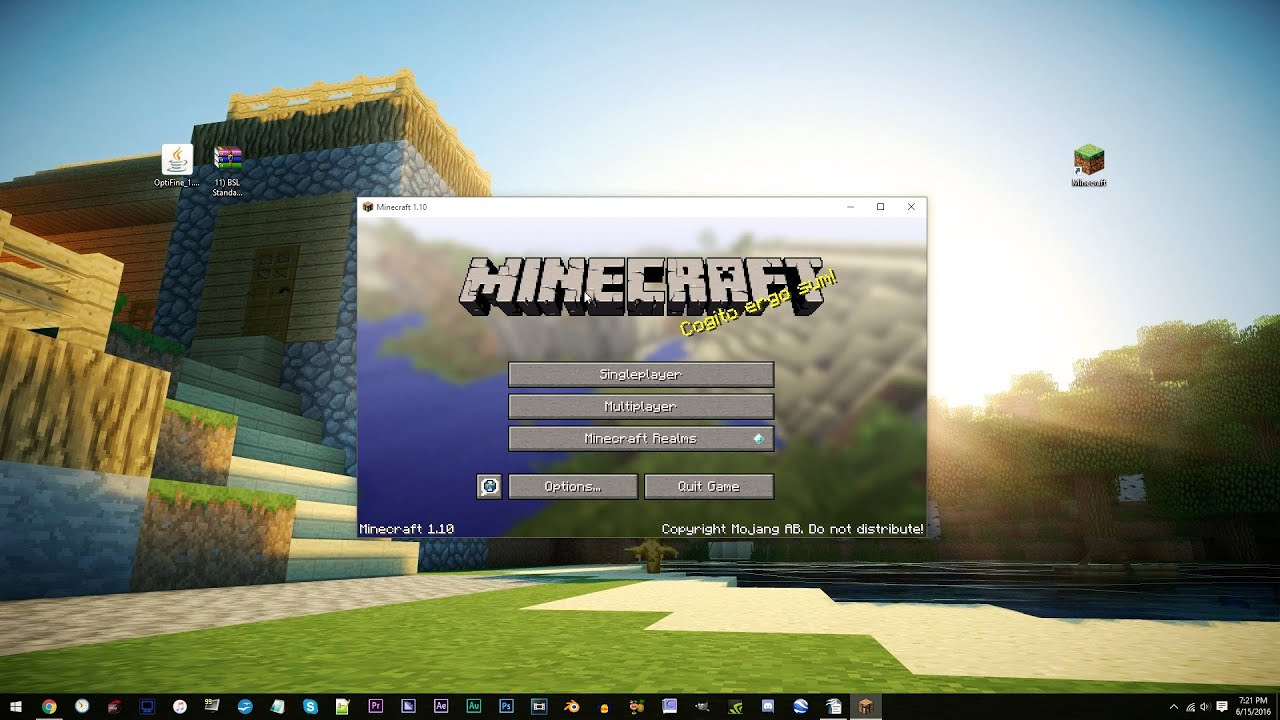 How to download minecraft windows 10 shaders