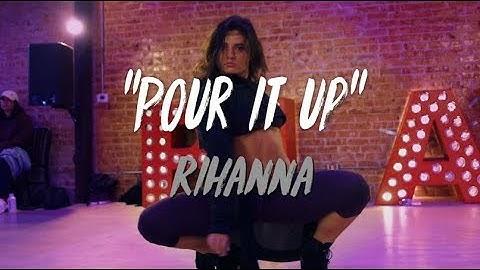 rihanna  pour it up  nicole kirkland choreography