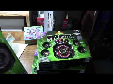 ToysRus Onine Purchase  Power Rangers 20th Aniversary Legacy Morpher MMPR