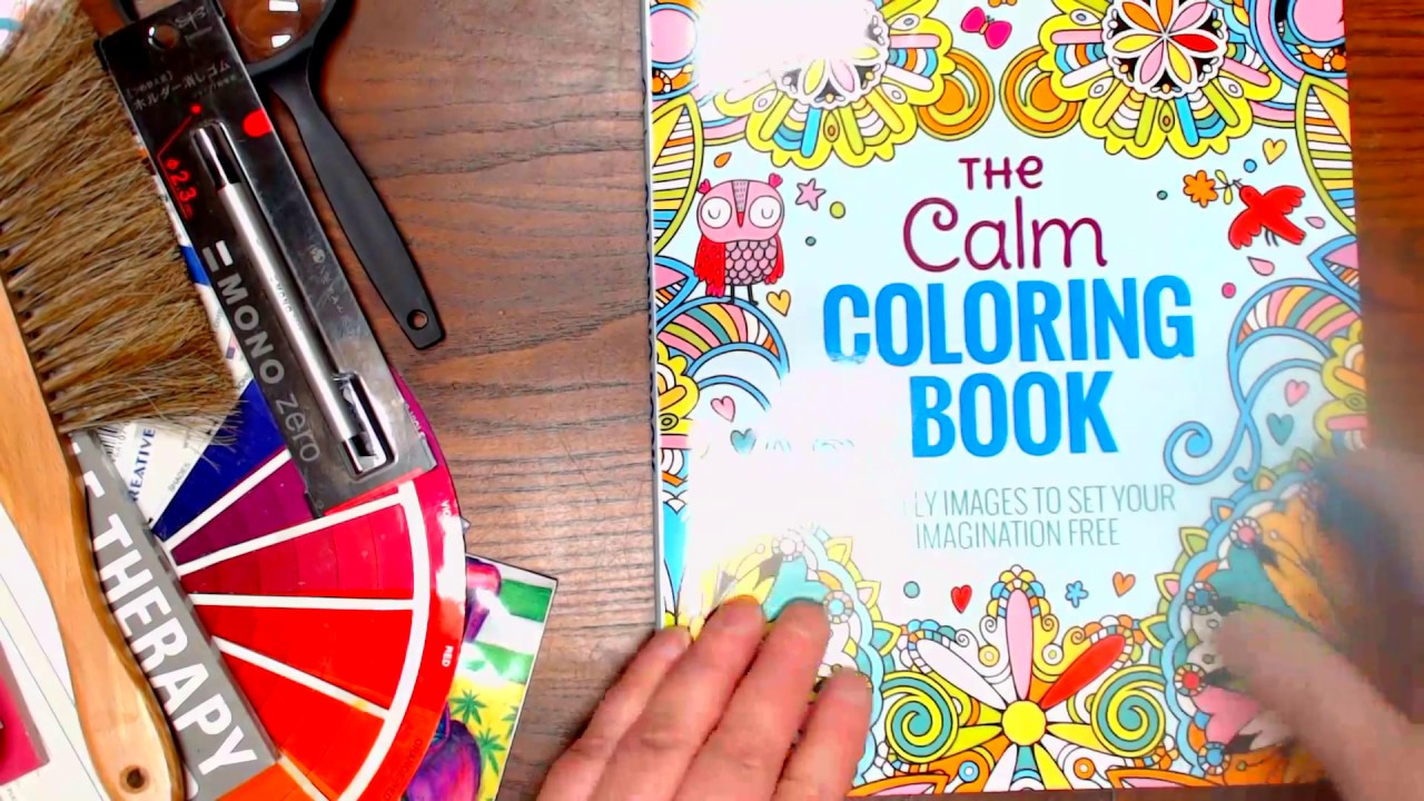 The Calm Coloring Book Youtube