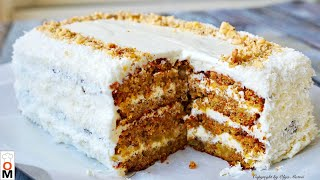 МОРКОВНЫЙ ТОРТ очень нежный и вкусный Carrot Cake Recipe