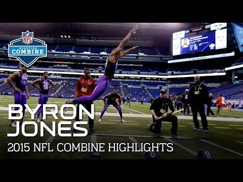 Byron Jones (UConn, DB) | 2015 NFL Combine Highlights