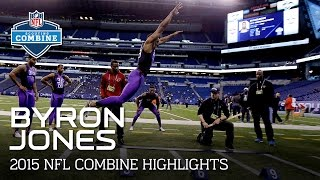 Byron Jones (UConn, DB) | 2015 NFL Combine Highlights