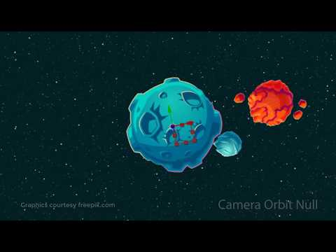 After Effects CC Course: Using the Orbit Null for Motion Graphics